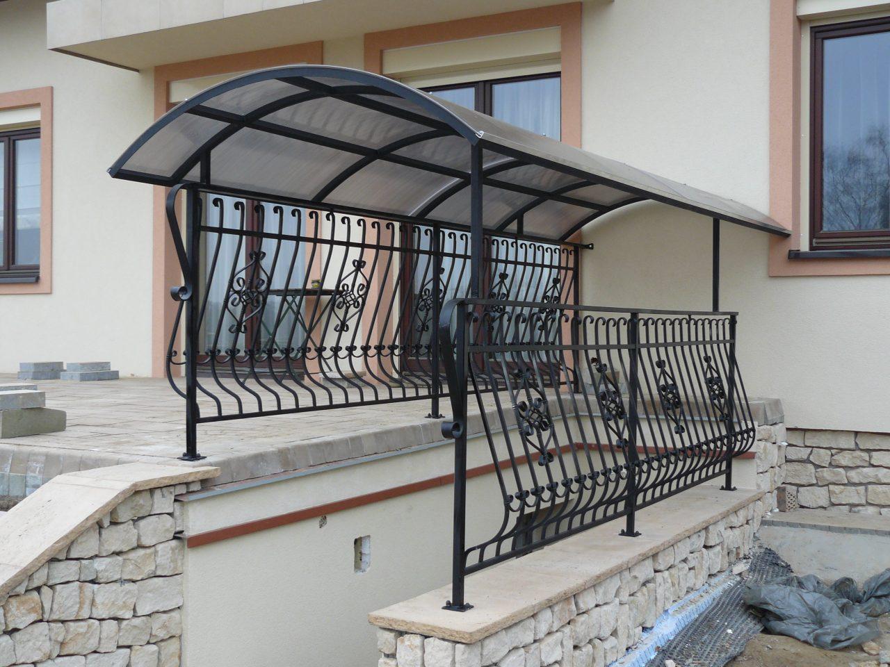 Zadaszona balustrada